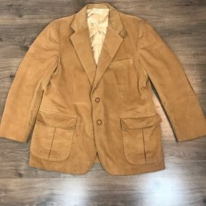 Other - Vtg Kentfield cordouroy jacket 2 button size 42